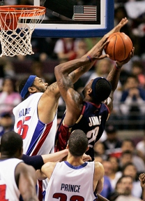 Cavs Pistons 2007 G2