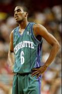 Eddie Jones 1999 Charlotte Hornets