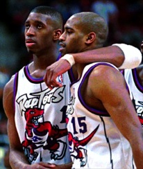 Vince Carter - Tracy Mc Grady Raptors 1999
