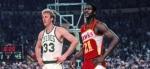 Il y a 27 ans, le duel de l�gende entre Larry Bird et Dominique Wilkins