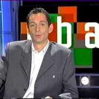 Xavier Vaution en plateau à Canal+ pour parler du All-Star Game 2004