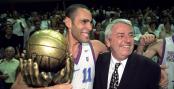 Richard Dacoury et Charles Bietry, le bonheur des champions de France 1997 !