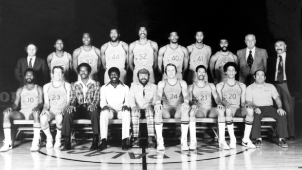 1975 Golden State Warriors team photo