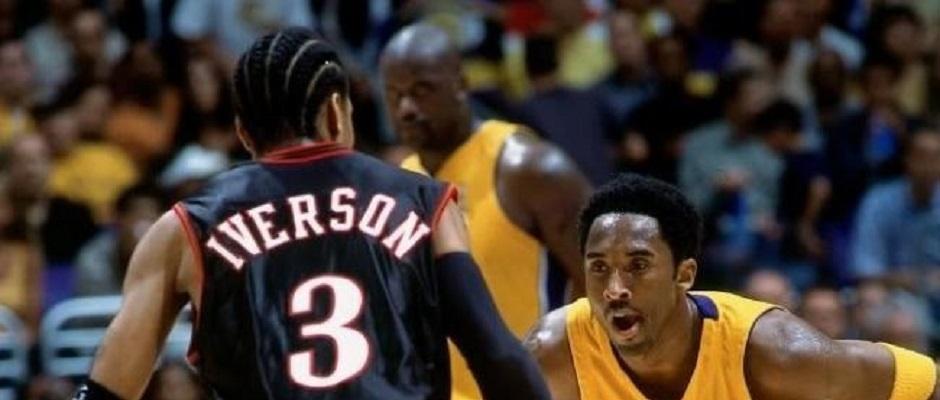 NBA Finals 2001 – Iverson – Kobe –Shaq