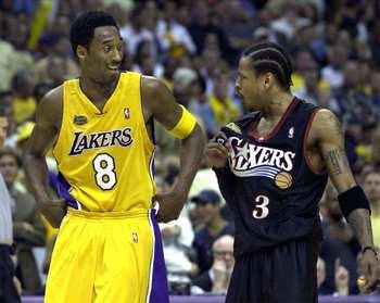 NBA Finals 2001 - Iverson-Kobe