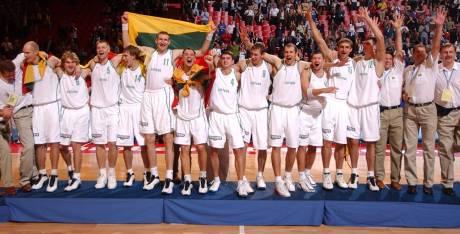 Equipe lituanie 2003