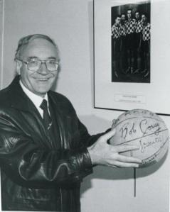 Gérard Bosc, ancien entraîneur de Freddy Hufnagel (c) FFBB