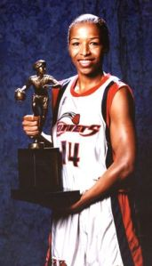 Cynthia Cooper - Houston Comets (c) pinterest