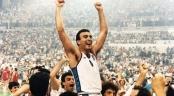 Nikos Galis, vainqueur de l'Euro 1987 avec la Grèce (c) Fiba