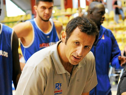Rigaudeau revient et va coacher le Paris-Levallois cette saison © Pascal Robert