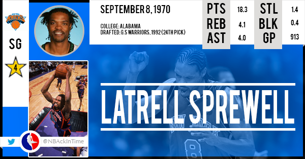 Latrell-Sprewell