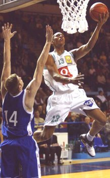 Boris Diaw lors de Pau-Roanne (c) interbasket.net