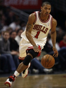 Derrick Rose au dribble - Chicago Bulls (c) Flickr.com