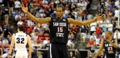 Kawhi Leonard - San Diego State (c) Ethan Miller/Getty Images North America