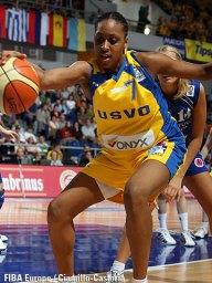 Sandrine Gruda - Valenciennes (c) Fiba Europe - Ciamillo-Castoria