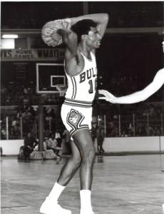 Bob Love le 15 octobre 1971 avec les Chicago Bulls