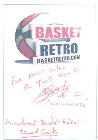 Pour Basket Retro. En toute amitié (Hervé Dubuisson) / Amicalement Basket Retro (David Cozette)