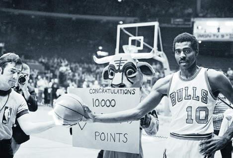 Bob Love et ses 10 000 points (c) NBAE, Getty Images