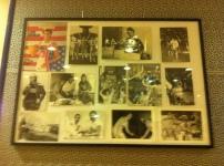 Salle VIP avec les souvenirs de la carrière de Dub (c) Basket Retro - RS
