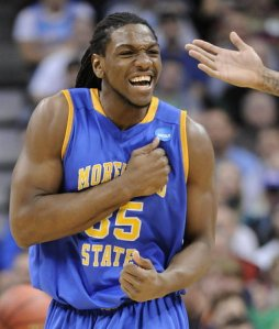 Kenneth Faried - Morehead State (c) Associated Press
