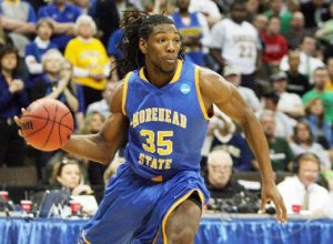 Kenneth Faried - Morehead State (c) Chris Humphreys-US PRESSWIRE