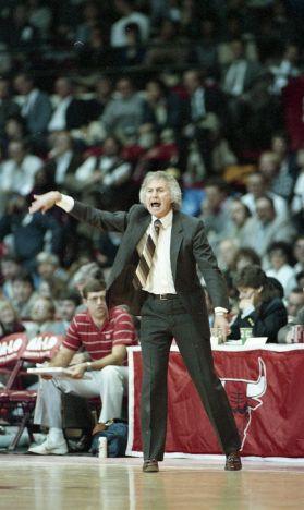 Coach Stan Albeck @ NBAE
