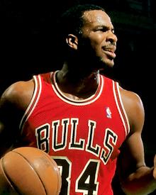 Chicago Bulls Charles Oakley 1986 - 87