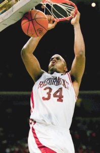 Corliss Williamson - Arkansas Razorbacks (c) Bob Jordan-AP Photo