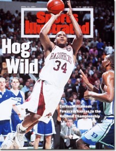 Corliss Williamson à la une de Sports Illustrated (c) John W. McDonough