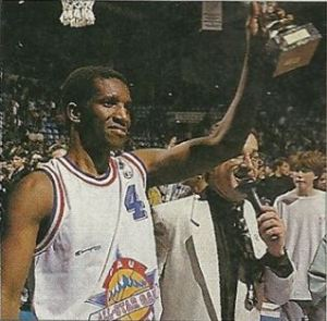 David Rivers, MVP du All-Star Game 1995. (c) J-F Mollière