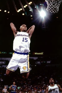 Latrell Sprewell - Golden State Warriors (c) Pinterest