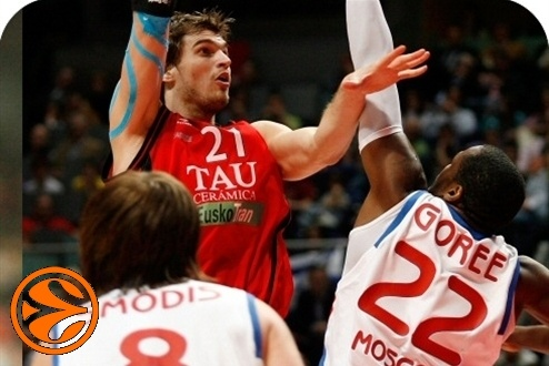 Tiago Splitter - Tau Vitoria vs CSKA Moscou (c) euroleague net
