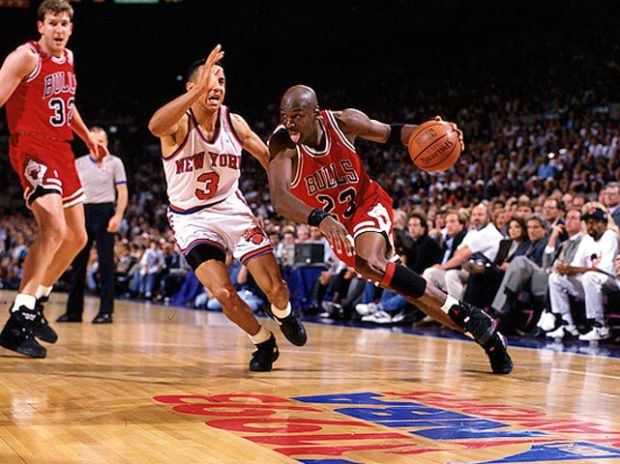Jordan contre les Knicks @ Getty Images