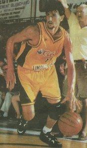 Yann Bonato lors de son premier passage au CSP entre 1995 et 1997.