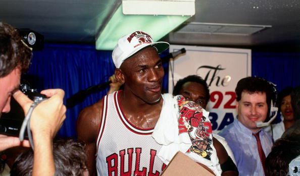 Michael Jordan et les Bulls champions NBA 92 @ Sports Illustrated