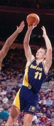 Detlef Schrempf au shoot - Indiana Pacers (c) Pacers photos