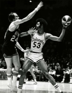 Artis Gilmore 1971-1972 Kentucky Colonels
