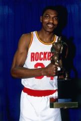 Hakeem Olajuwon MVP 1994 avec Houston (c) Pinterest