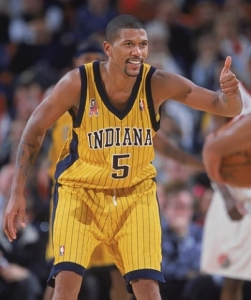 Jalen Rose - Indiana Pacers (c) NBAE Photos