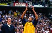 Jalen Rose - MIP 1999-2000 avec les Pacers d'Indiana (c) Nathaniel S. Butler/NBAE via Getty Images