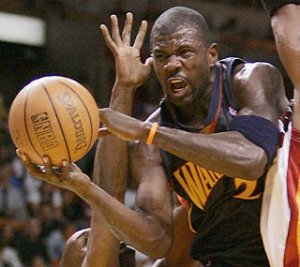 Jason Richardson - 44 points avec Golden State Warriors face au Miami Heat (c) AP