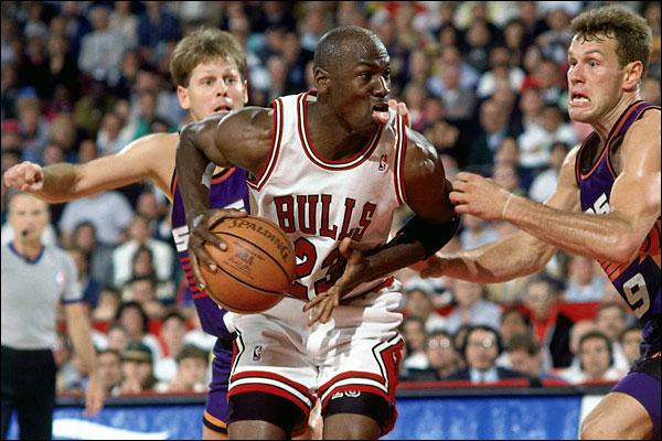 Jordan contre les Suns @ NBAE/Getty Images