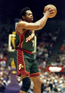 Sam Perkins - Seattle Sonics (c) DR