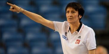 Valérie Garnier coach de l'Equipe de France (c) DR