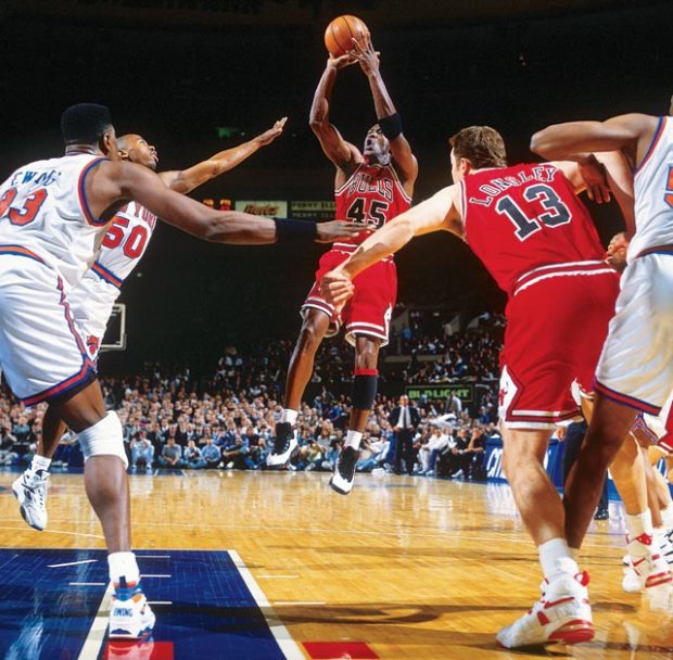Jordan vs les Knicks @ ESPN
