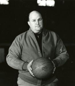 Harold Olsen Basketball Coach, 1935
