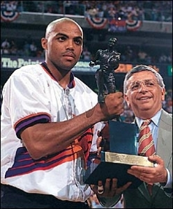 Charles Barkley - MVP 92-93 avec Phoenix (c) NBAE Photos