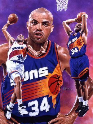 Charles Barkley - Phoenix Suns (c) DR