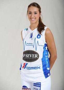 Tamara Abalde - Basket Landes (c) Page Facebook Tamara Abalde