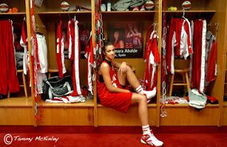 Tamara Abalde - Lamar Cardinals (c) Tammy McKinley